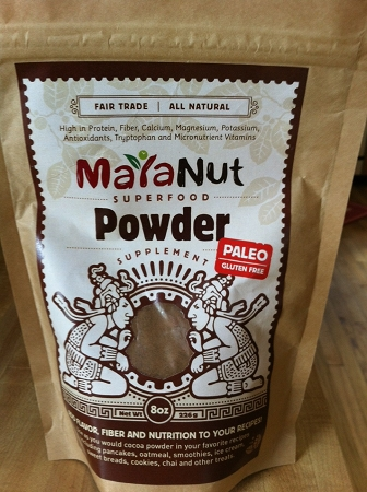 Maya nut powder, sold at our online store