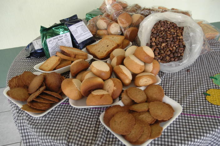 Baked goods made with Maya Nut