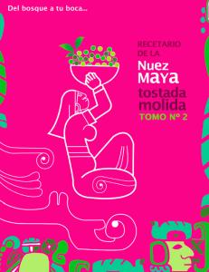 RECETARIO DE LA NUEZ MAYA TOSTADA MOLIDA